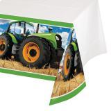 "Tischdecke ""Traktor Time"" 137 cm x 259 cm"