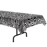 "Tischdecke ""Zebra-Look"" 137 x 274 cm"