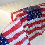 """Tischdecke """"Amerikanische Flagge"""" 137 x 259 cm"""