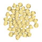 Tischdeko Diamanten 28g-gelb