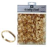"""Tischdeko """"Eheringe"""" 288er Pack-gold"""