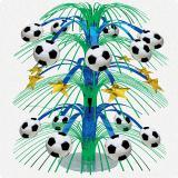 Tischdeko Große Fußball-Fontäne 46 cm