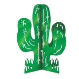 """Tischdeko """"Grüner Kaktus"""" 28 cm"""