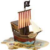 """Tischdeko """"Piraten-Schatzkarte"""" 33 cm"""