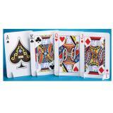 """Tischdeko Spielkarten """"Casino Life"""" 30 cm 4er Pack"""