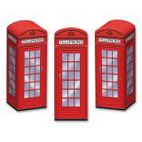 """Tischdeko """"Telefonbox"""" 3er Pack"""