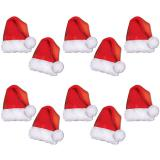 """Tischdeko """"Personalisierbare Weihnachtshütchen"""" 10er Pack"""