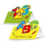 """Tischkarten """"Erster Schultag"""" 24er Pack"""