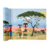 """Tischläufer """"Afrika"""" 0,3 x 5 m"""