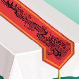 """Tischläufer """"Asien"""" mit Quaste 180 cm"""