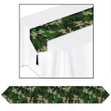 """Tischläufer """"Camouflage"""" 183 cm"""