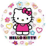 "Transparenter Folienballon ""Hello Kitty"" 66 cm"