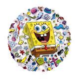 """Transparenter Folienballon """"SpongeBob Schwammkopf"""" 66 cm"""