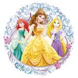 """Transparenter XL Folien-Ballon """"Disney Prinzessinnen"""" 66 cm"""