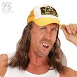 """Trucker-Kappe mit Haar """"Bob"""""""