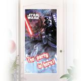 "Tür-Deko ""Ultimative Star Wars"" 76 x 152 cm"
