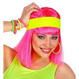 UV-Leucht-Stirnband-neongelb