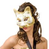 "Venezianische Maske ""Pussycat"" 18 cm"