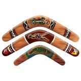 Wanddeko Boomerang 3er Pack 46 cm