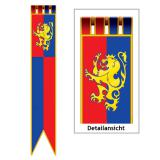 "Wanddeko Fahne ""Ritterwappen"" 1,8 m"