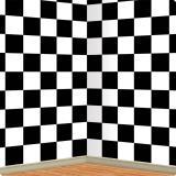 Wanddeko Schachbrett 1,2 x 9,1 m