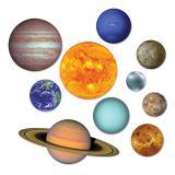 """Wanddeko """"Sonnensystem"""" 10-tlg."""
