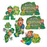 "Wanddeko ""St. Patrick in Ireland"" 6-tlg."