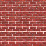 Wanddeko Ziegelmauer 1,2 x 9,1 m