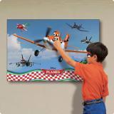 """Wanddeko personalisierbares Spiel """"Planes"""" 94 x 61,5 cm"""
