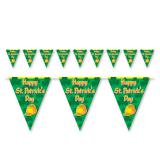 "Wimpel-Girlande ""Happy St. Patrick's Day"" 3,7 m"