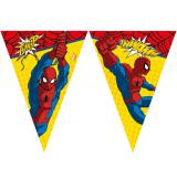 "Wimpel-Girlande ""Ultimate Spiderman"" 2,3 m"