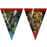 "Wimpel-Girlande ""Star Wars - Rebels"" 2,6 m"