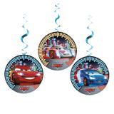 "Wirbel-Deckenhänger ""Cars Neon City"" 3er Pack"