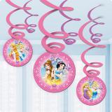 """Wirbel-Deckenhänger """"Disney-Prinzessinnen"""" 6er Pack"""