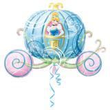 "XL Folienballon ""Cinderella im Traumland"" 83 cm"