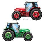 """XL Raumdeko """"Traktor"""" 91 x 58 cm"""