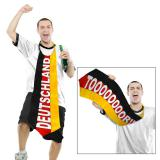 """XXL Krawatte """"Fußball Deutschland"""" 100 cm"""