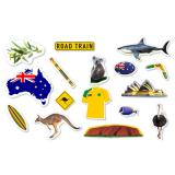 "XXL-Konfetti ""Australische Flagge"" 54-tlg."