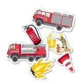 """XXL-Konfetti """"Spannende Feuerwehr"""" 24-tlg."""