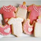 Zuckersüße Kekse für die Babyparty!