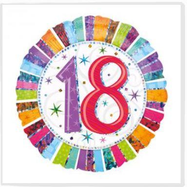 18 geburtstag das muss gefeiert werden. Black Bedroom Furniture Sets. Home Design Ideas