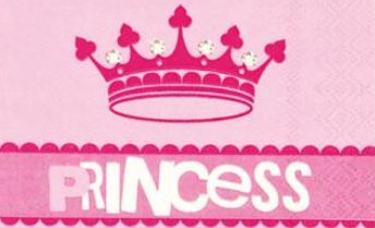 PartyDeko für die Prinzessinnen Party