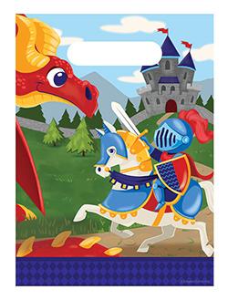 Geschenktütchen für Kinder - Ritter und Drache
