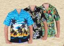 hawaiihemden-Partydeko