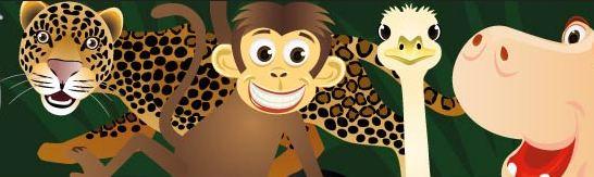 Wie Wäre Es Beispielsweise Mit Einem Frage Such Spiel, Bei Dem Ein Kind Mit  Verbundenen Augen Die Laute Der Anderen Tiere Erkennen Und ...
