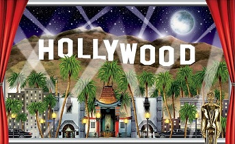 Hollywood Partydeko